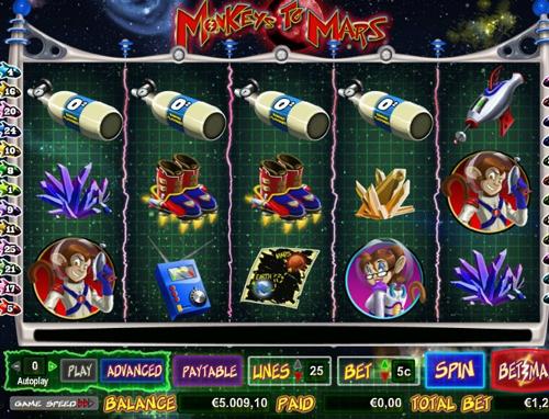 online slot monkeys to mars im intercasino