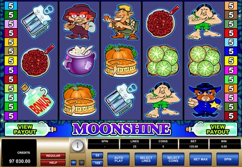 moonshine online slot