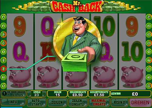 online slot mr cash back im william hill casino