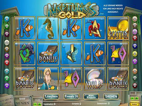 Neptunes Gold Slot