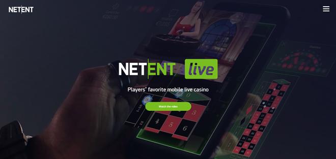 NetEnt Live Casino Banner