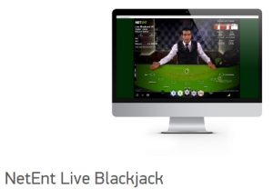 NetEnt Live Casino Blackjack
