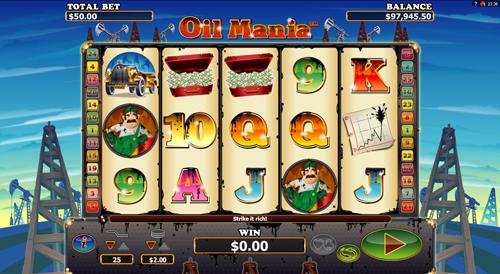 oil-mania online slot