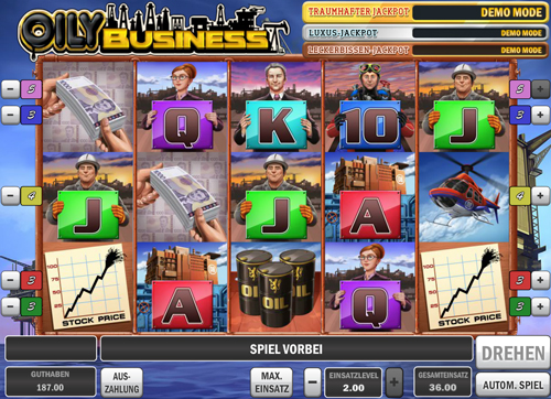 oily-business online slot