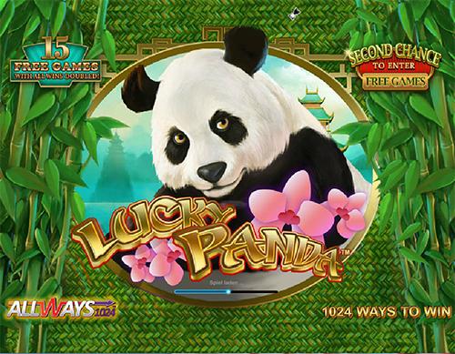 lucky panda online slot