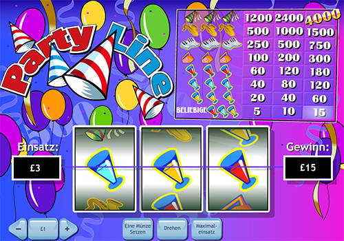 online slot party line im william hill casino