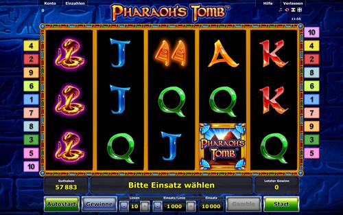 pharaohs-tomb novoline online slot