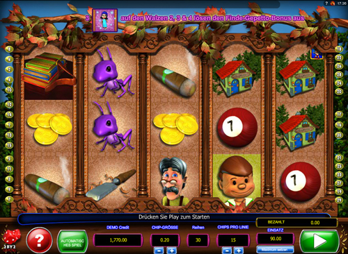 pinocchios-fortune online slot