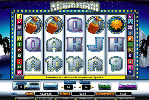 online slot platinum pyramid im intercasino