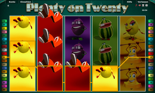 novoline slot plenty on twenty im stargames casino