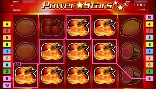 novoline slot power stars im stargame casino