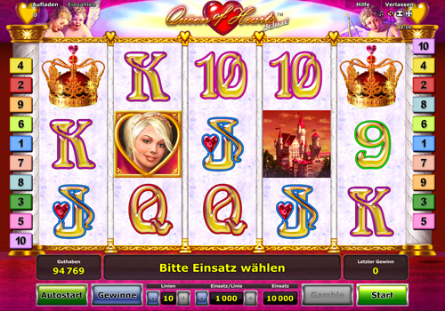 online casino site queen of hearts online spielen