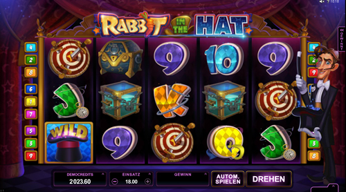 rabbit-in-the-hat online slot