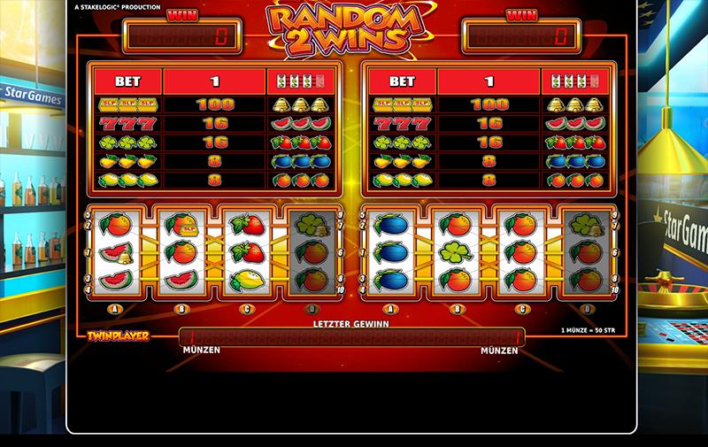 Random 2 Wins Slot - Spielen Sie das Casino-Spiel gratis online