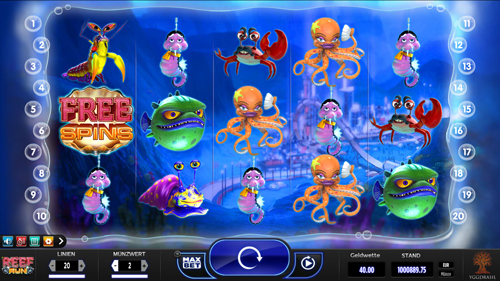 reef-run online slot
