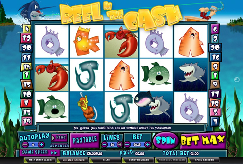reel in the cash online slot im intercasino