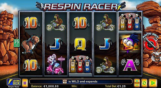 Respin Racer Vorschau