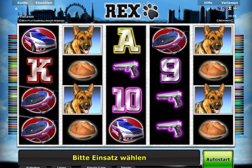 rex online slot im stargames casino spielen