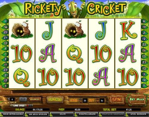 rickety cricket online slot im intercasino