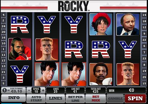 online slot rocky im william hill casino