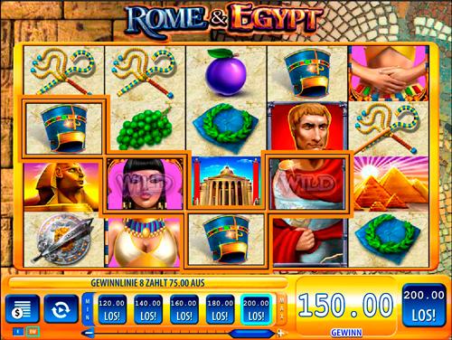 rome-egypt