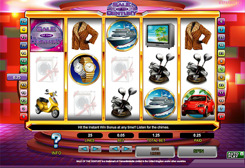 sale of the century online slot im 888 casino