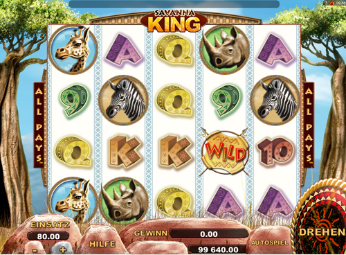 savanna-king online slot