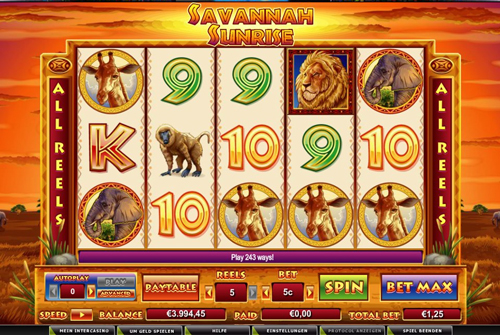 savannah sunrise online slot im intercasino