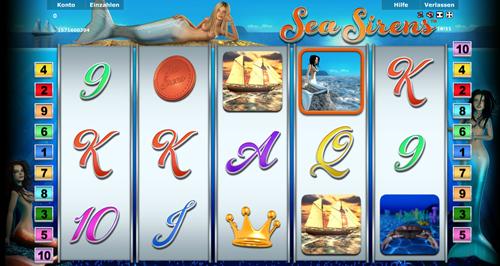 online slot sea sirens im stargames casino