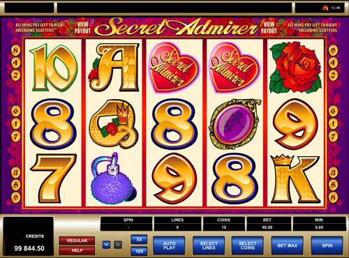secret-admirer online slot