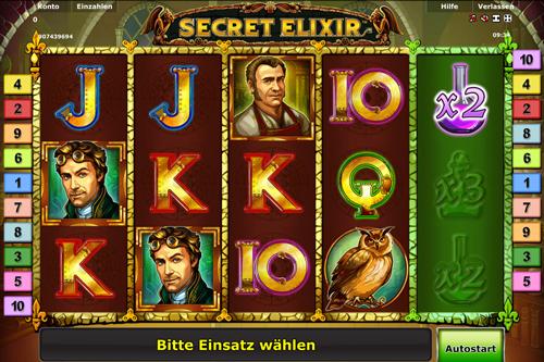 online slot secretelixir im stargames casino