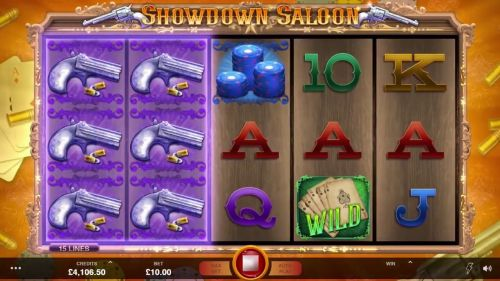 Showdown Saloon Slot Vorschau