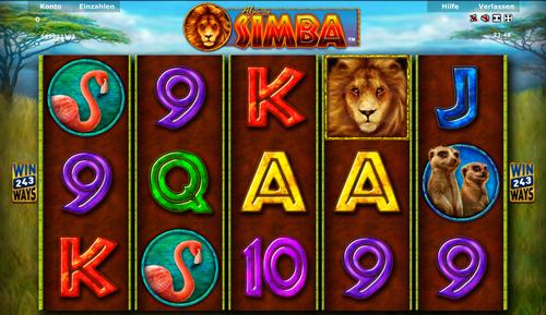 online slot simba im stargames casino