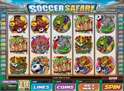 soccer-safari online slot