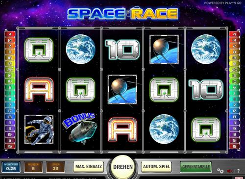 space-race online slot