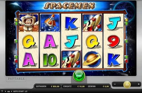 spacemen online slot im sunmaker casino