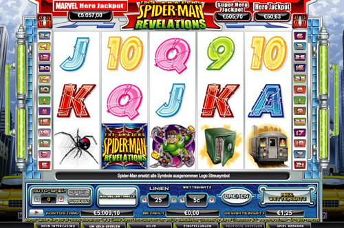 online slot spider man revelations im intercasino