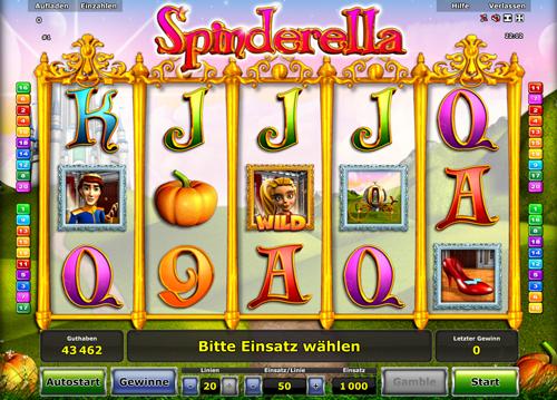 online casino slot spinderella