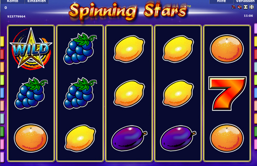 online slot spinning stars von novoline im stargames casino