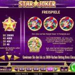 Star Joker Gewinne