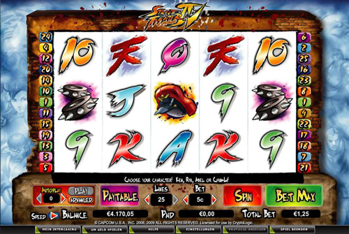 online slot street fighter iv