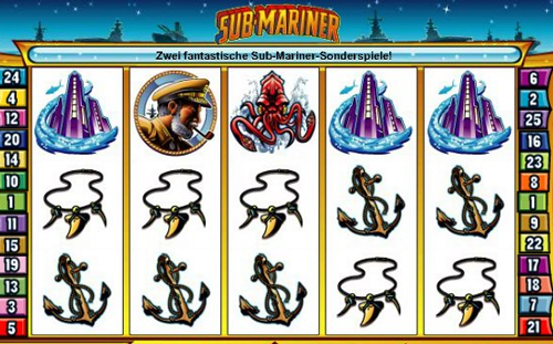 online slot sub mariner im intercasino