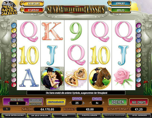 online slot sunday afternoon classics im intercasino