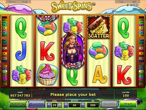 sweet spins spielen