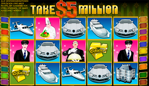 online slot take 5 million im william hill casino