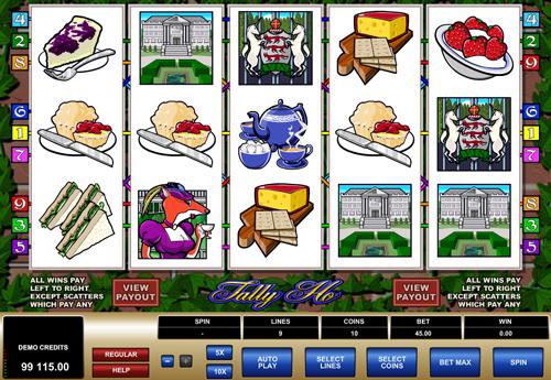 tally-ho online slot