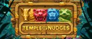 Temple of Nudges Slot Logo