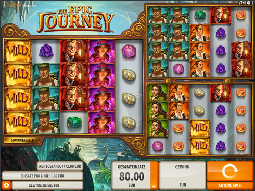the-epic-journey online slot