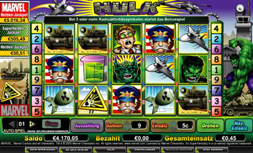 the incredible hulk online slot im intercasino