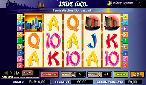 online slot the jade idol im inter casino